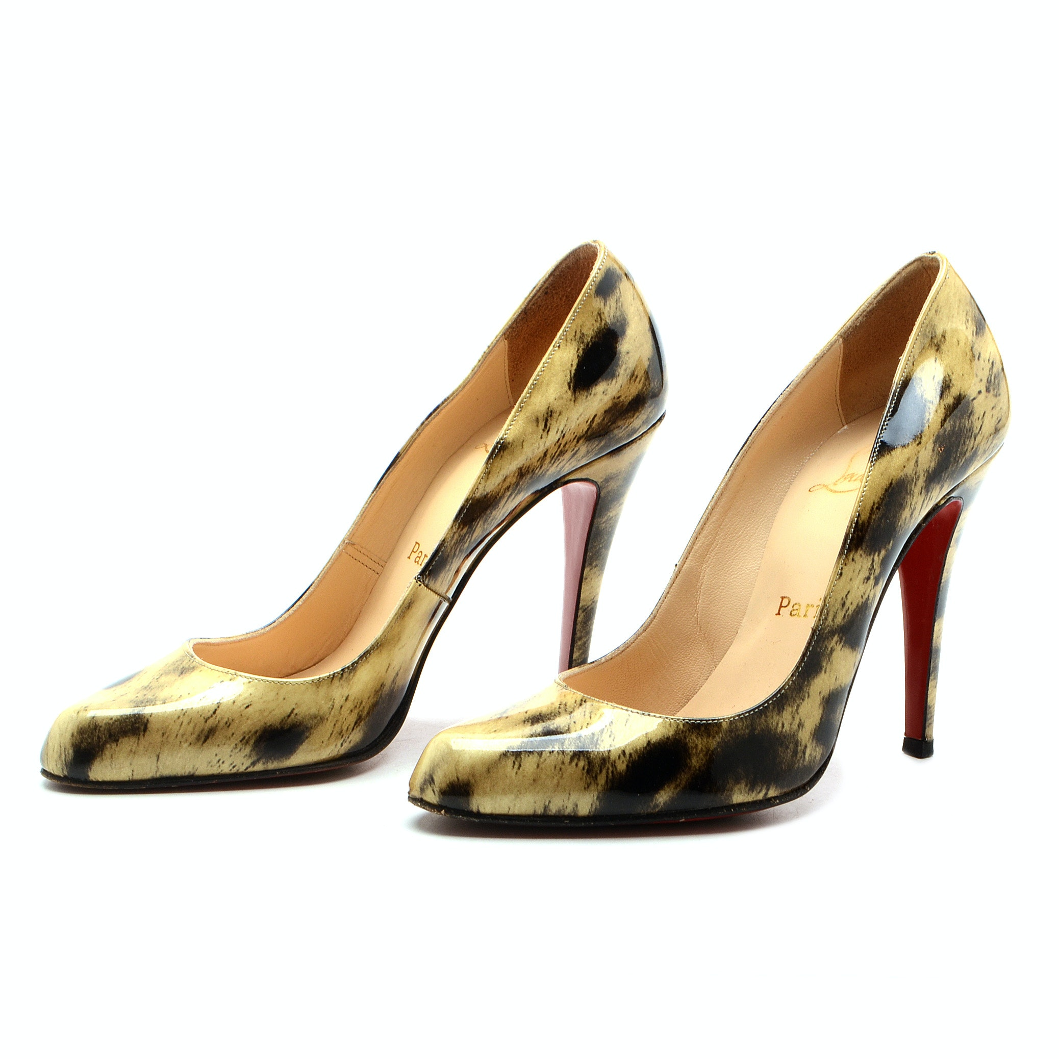 Christain Louboutin Patent Leather Dress Pumps