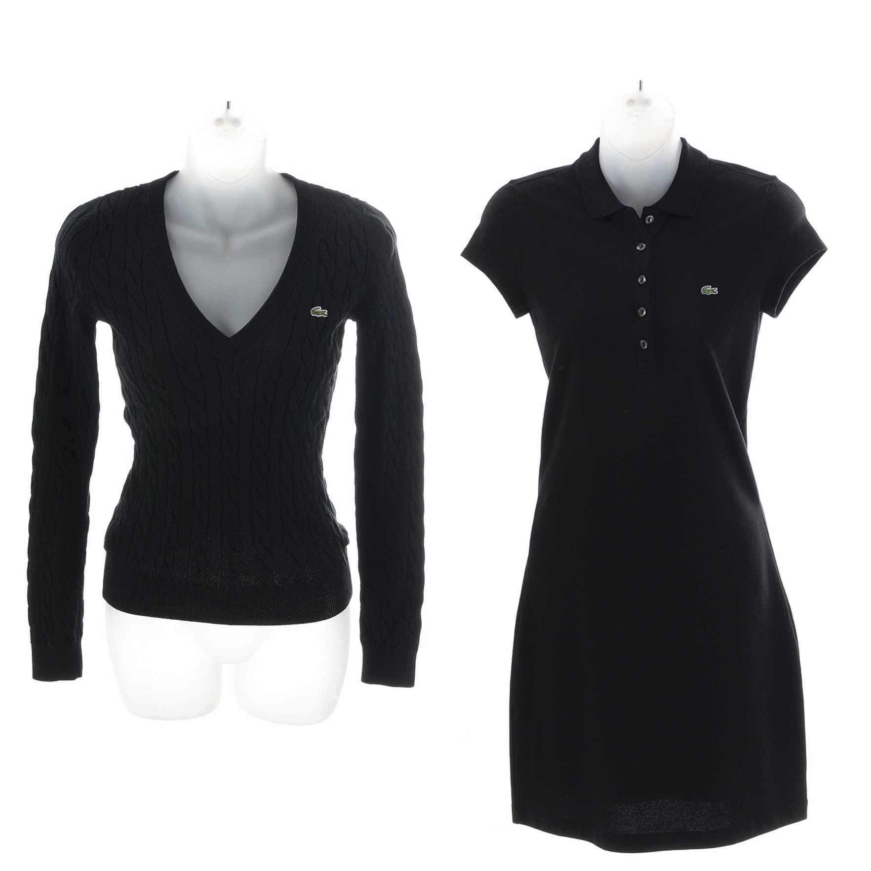 Lacoste Dress and Sweater