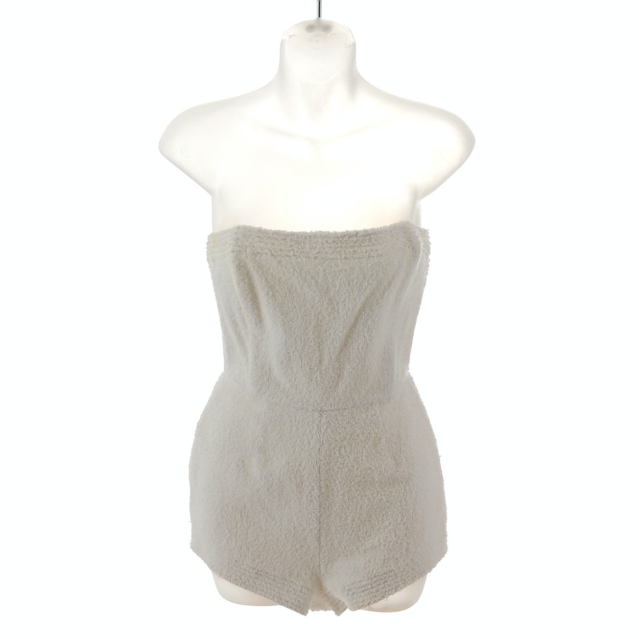 Isaac Mizrahi Terry Cloth Romper