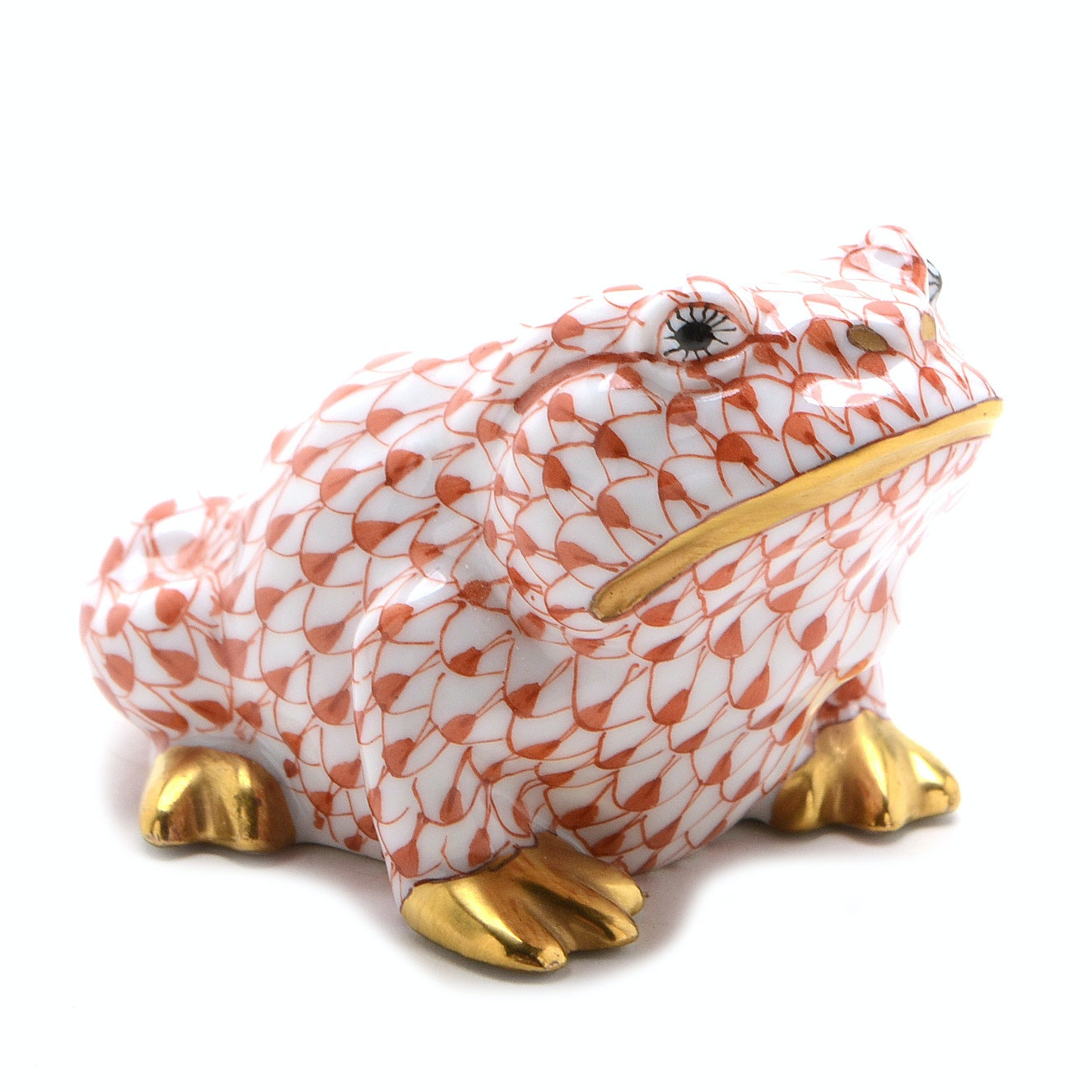 Herend of Hungary Porcelain Toad Figurine