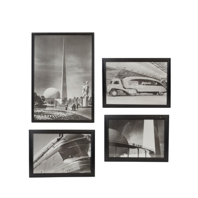 1939 World's Fair Photo Print Set