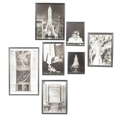 New York City Landmark Photo Print Set