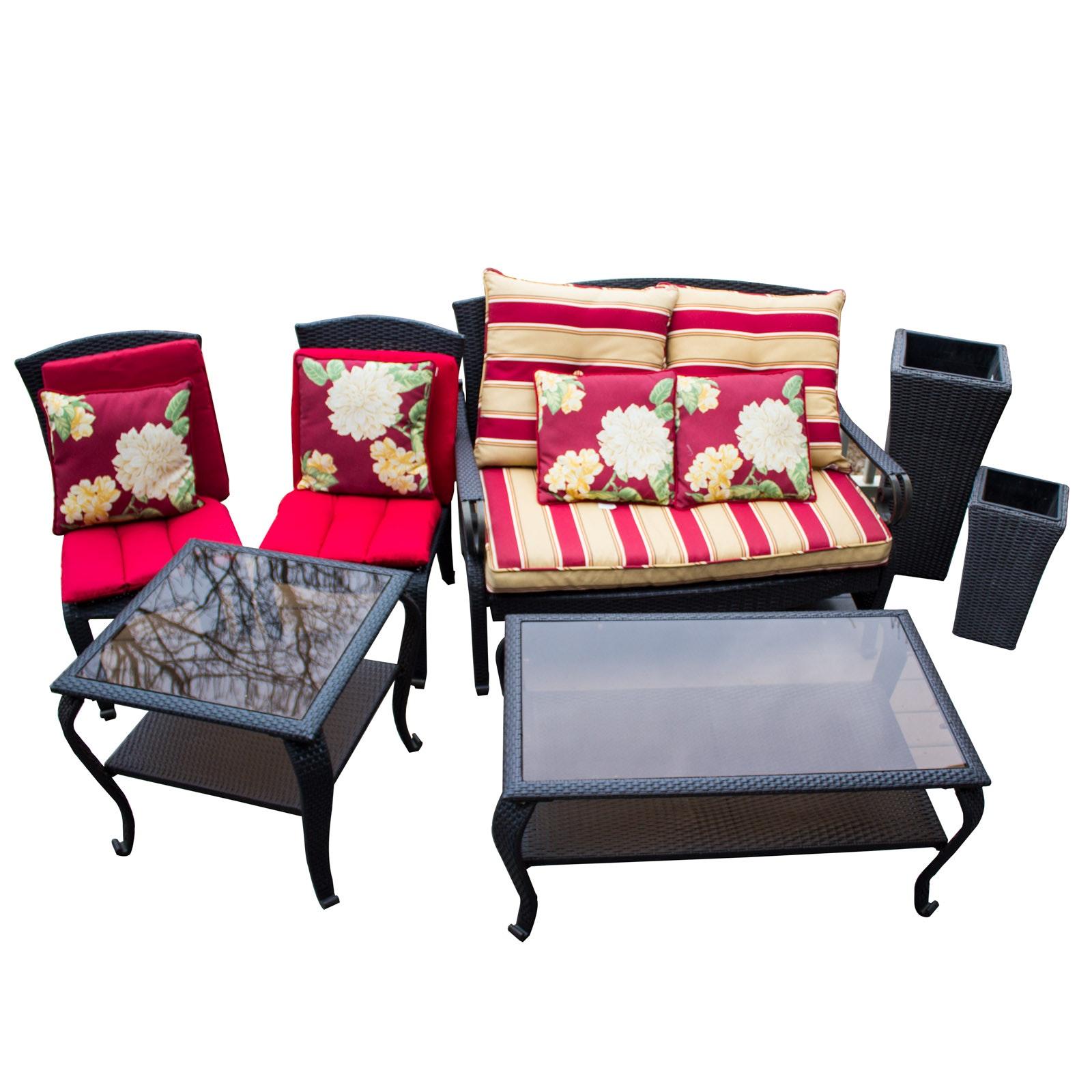Hampton Bay Wicker Patio Furniture Collection ...