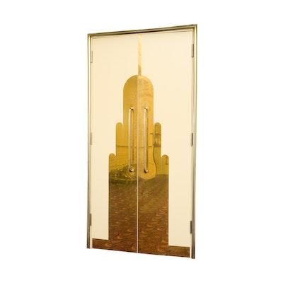 Set of Art Deco Double Doors