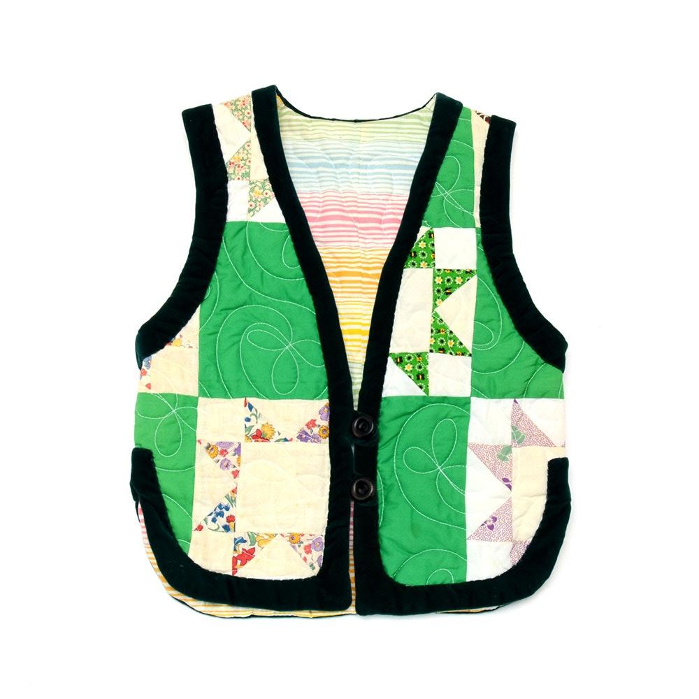 Vintage Quilted Vest