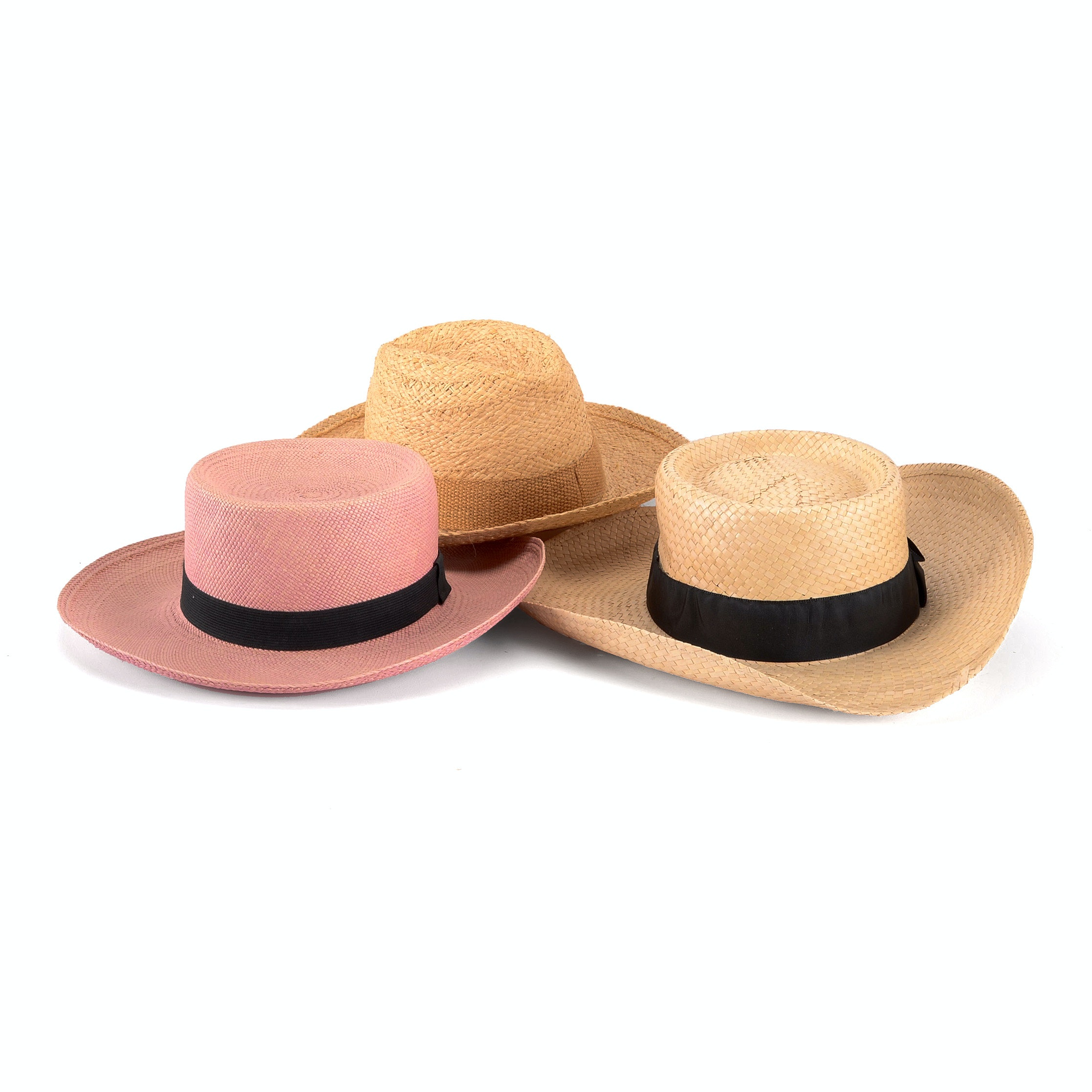 Assorted Straw Hats