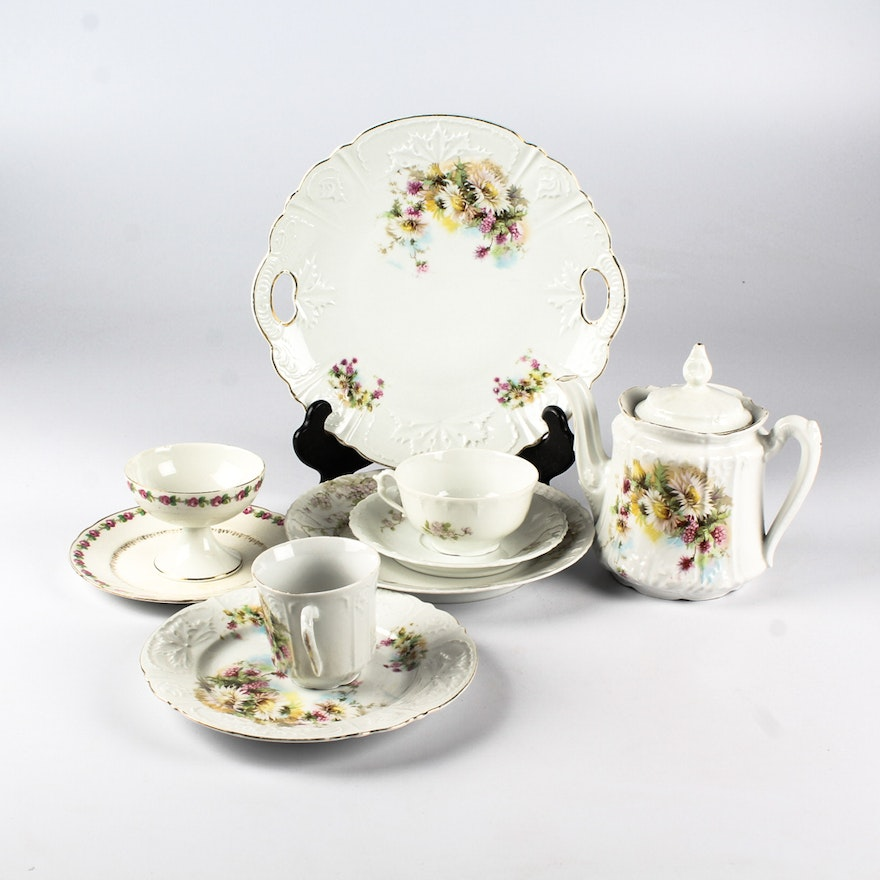 Floral China Featuring MZ Austria