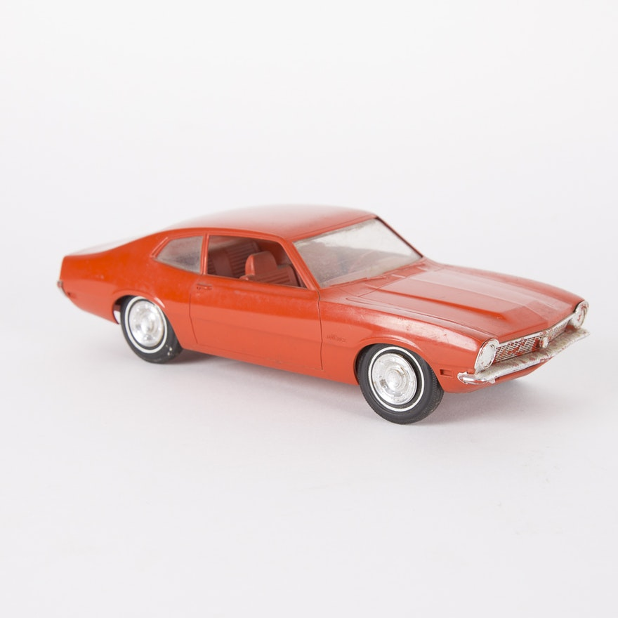Vintage Maverick Toy Car Model by Johan Models : EBTH