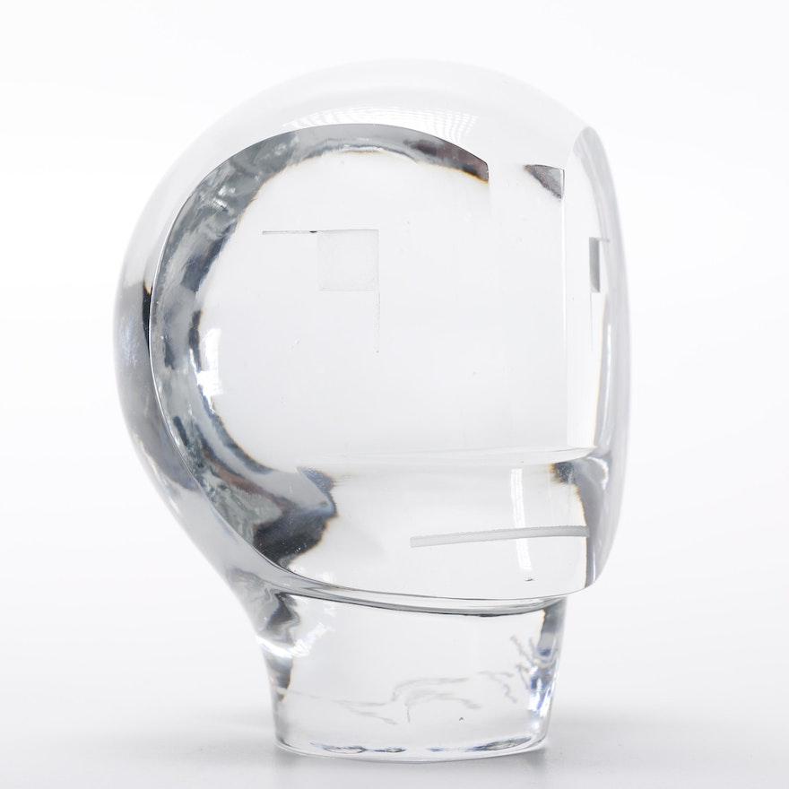 Pedro Ramirez Vazquez Crystal Head Figure : EBTH