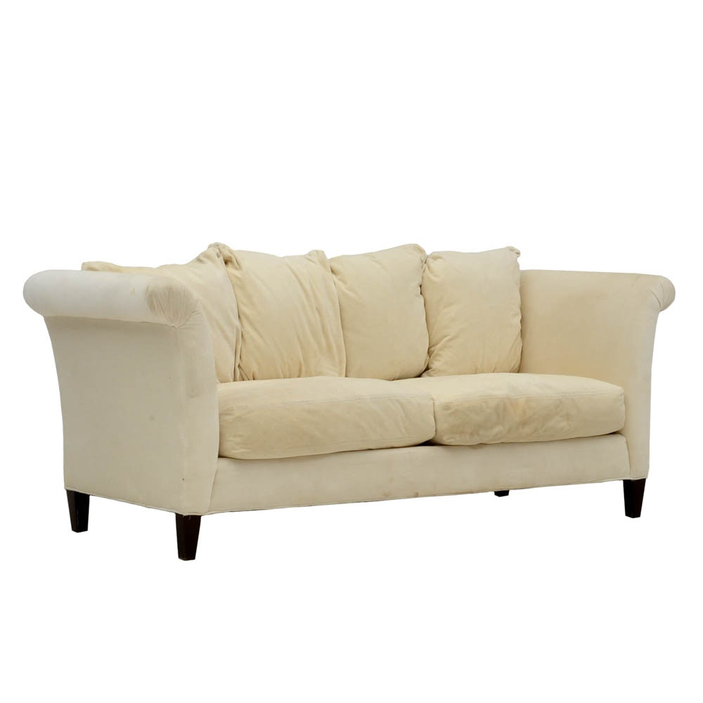 Susan's Crate & Barrel Sofa She Had In Her Studio Dressing Rooms
