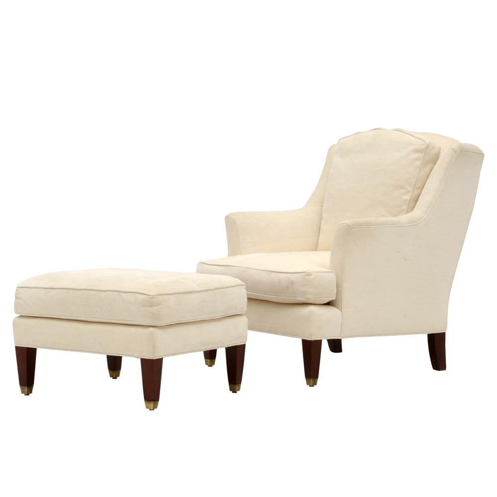 Dapha Furniture Armchair and Ottoman