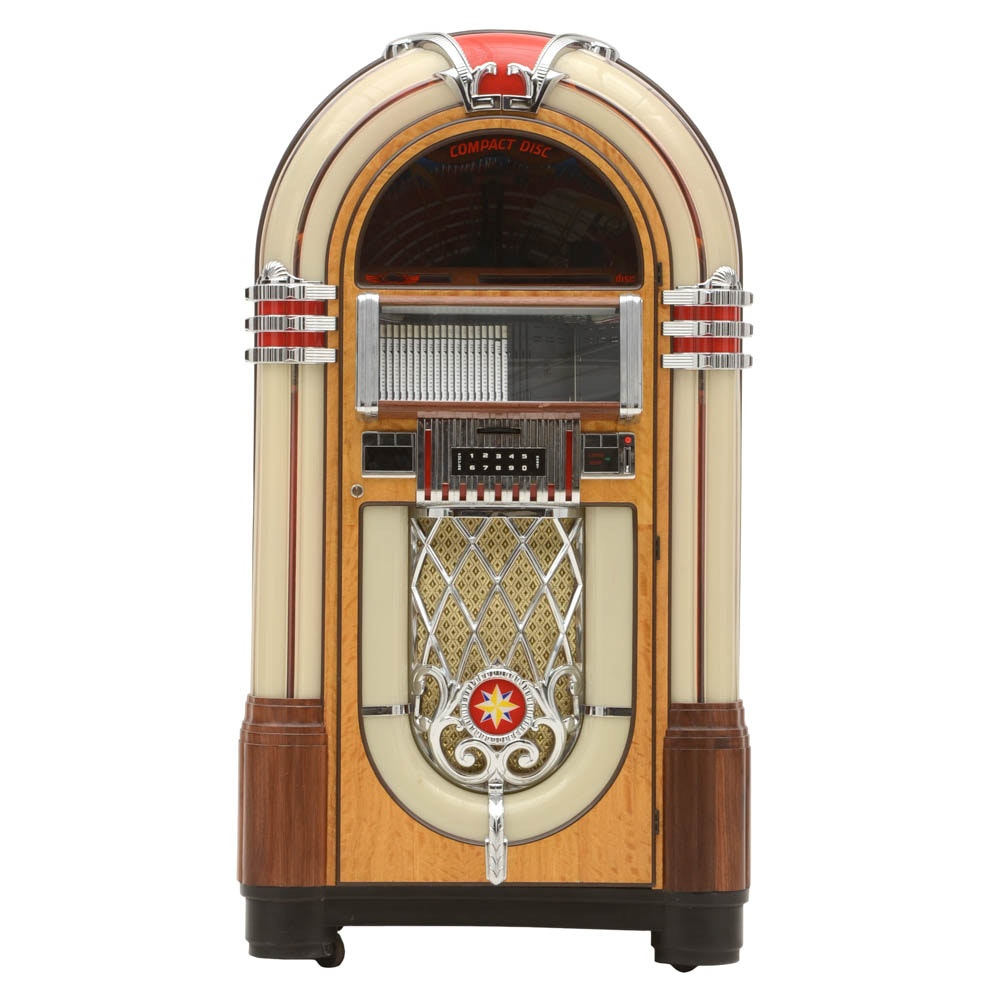 Antique Apparatus Brand Art Deco Style CD Jukebox