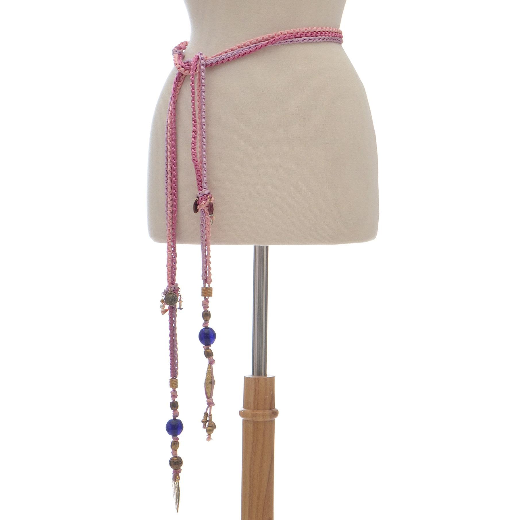 Pink Rope Belt