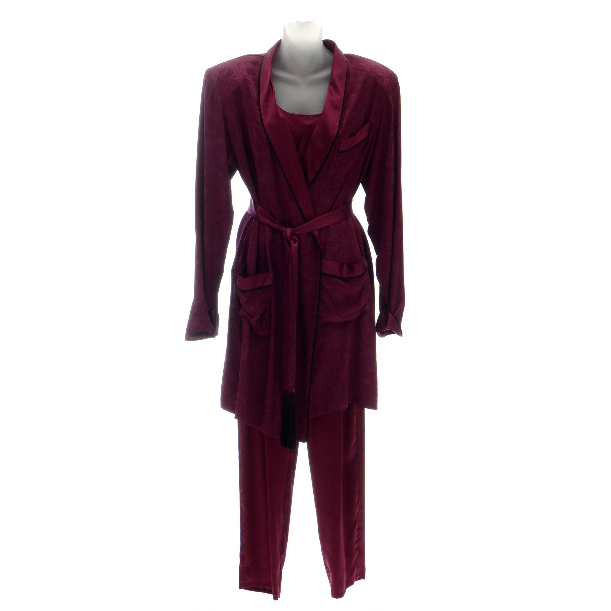 Vintage Adagio Silk Loungewear