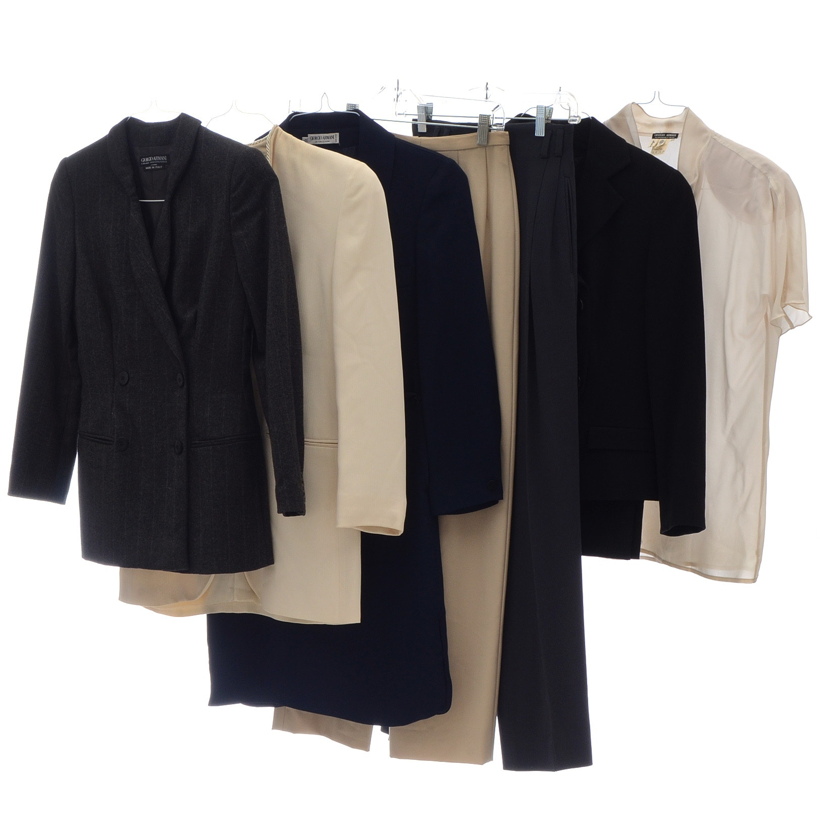 Assortment of Giorgio Armani Work Wear