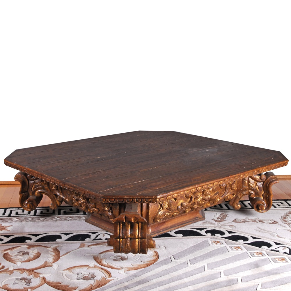 Restoration Hardware Rococo Style Coffee Table