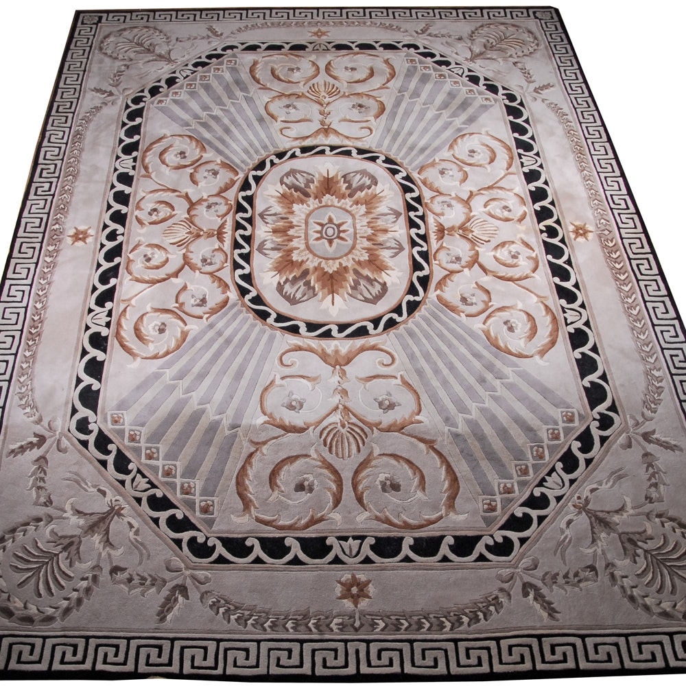 Handmade Versailles Palace Collection Area Rug