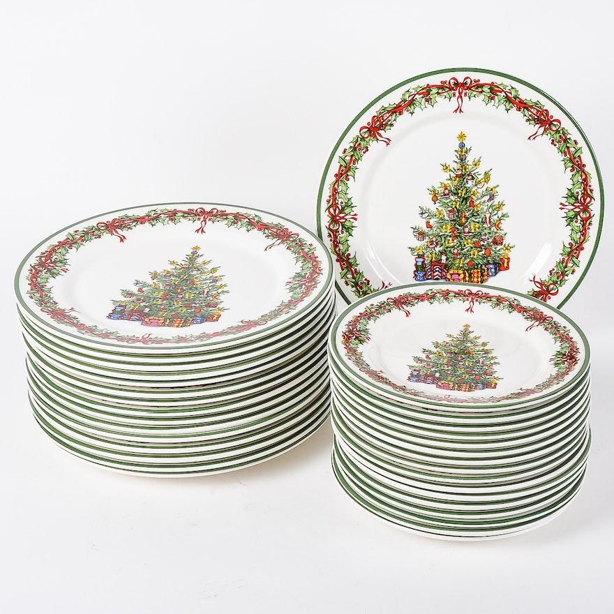 Christopher Radko Christmas Plates : EBTH