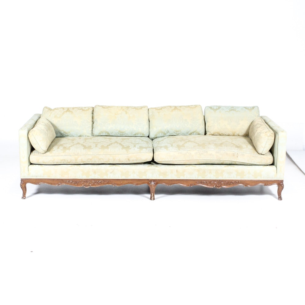 Vintage Henredon Sofa; 1x1 ...