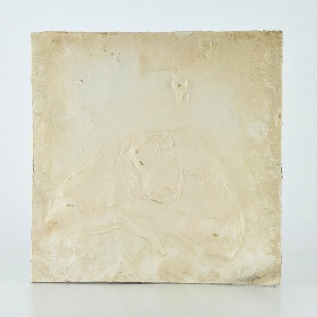 Original Tuska Mixed Media Relief Sculpture