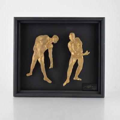 Tuska Illumine Study Bronze Relief Maquette
