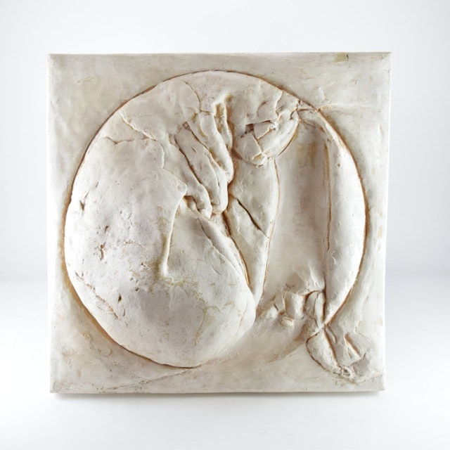 Original Tuska Fiberglass Bas-Relief Sculpture