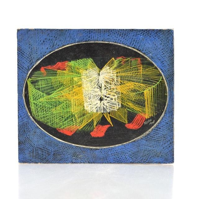 Original Tuska Acrylic Painting
