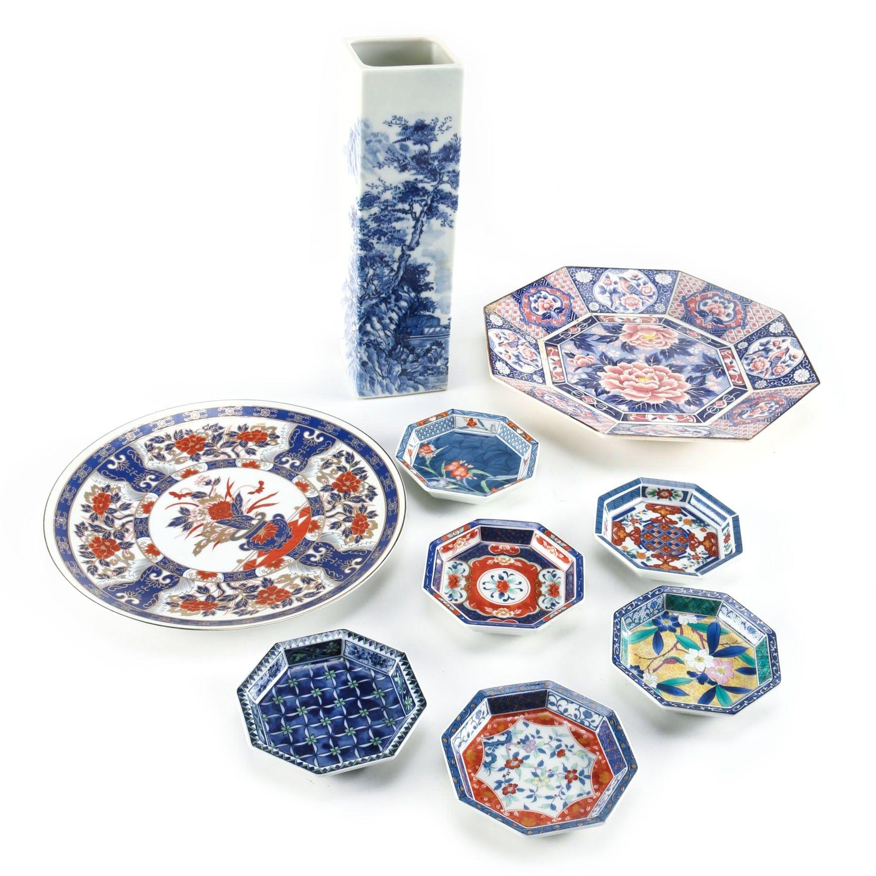 Japanese Ceramic Tableware Featuring Takahashi San Francisco and OCGC Japan Plates ...  sc 1 st  EBTH.com & Japanese Ceramic Tableware Featuring Takahashi San Francisco and ...