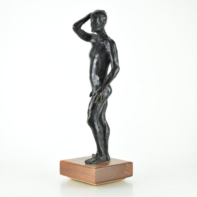 Original Tuska Bronze Nude Sculpture