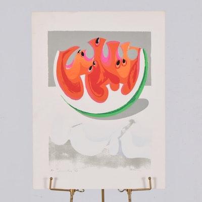 "Tuska Serigraph Print ""Summertime"""