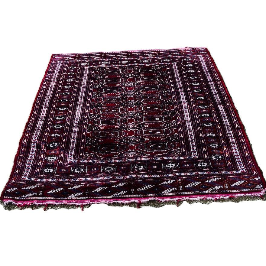 Persian Hand Woven Bakhtiari Style Wool Area Rug Ebth: Area Rug Ideas