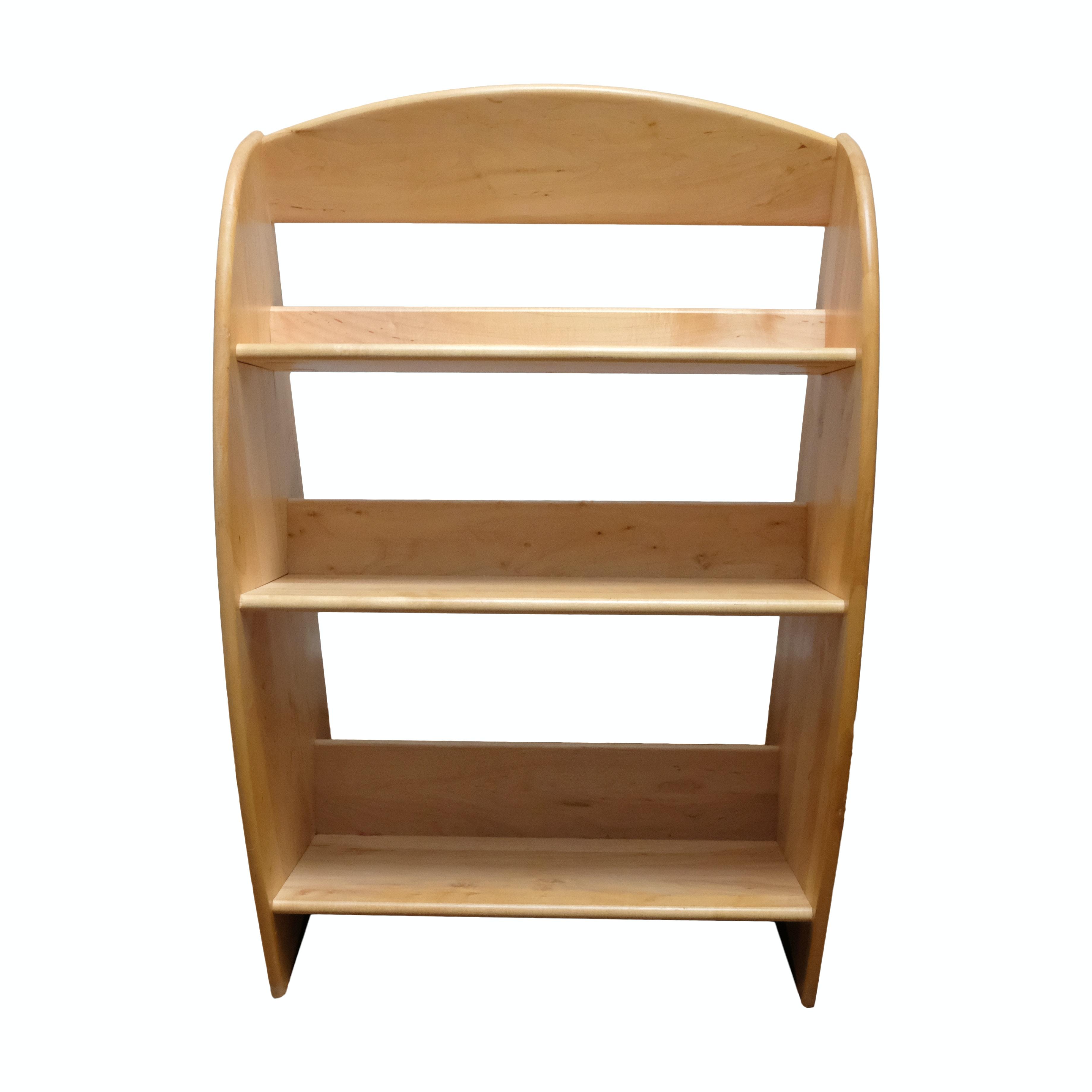 Levenger Childrenu0027s Maple Wooden Bookcase ...