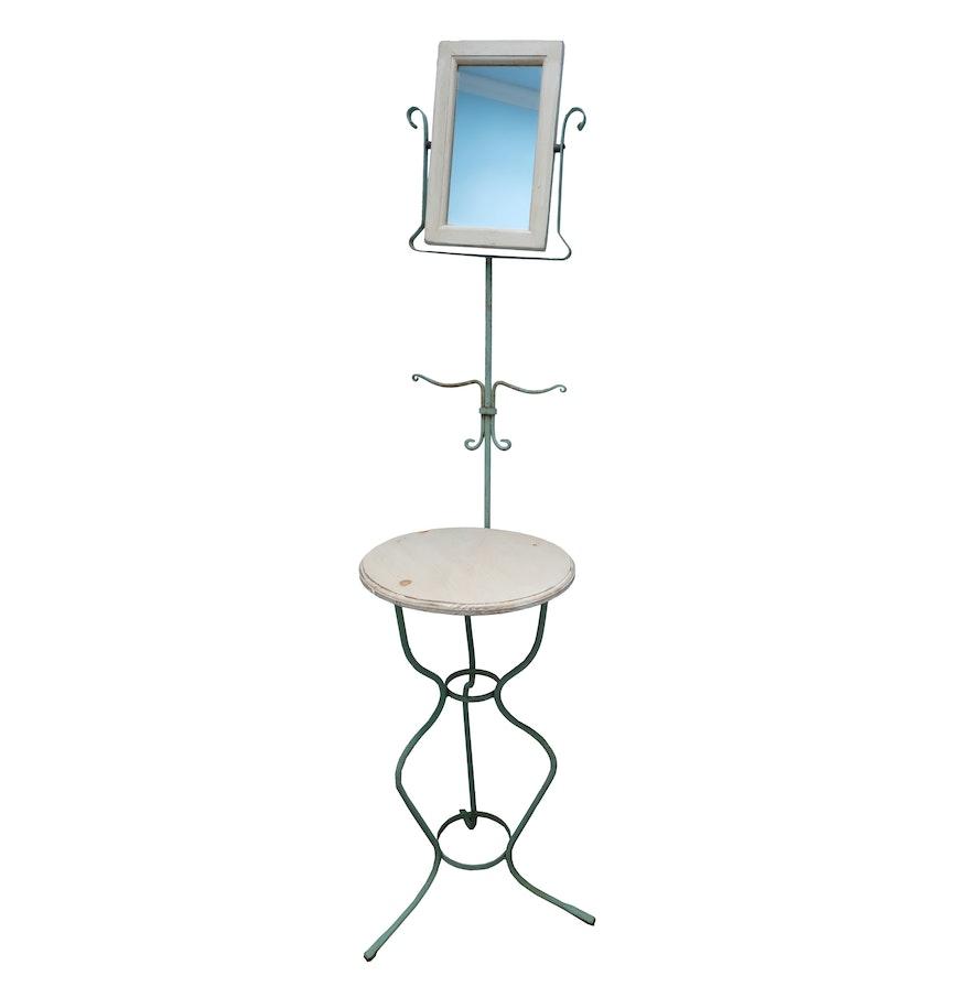 Wrought Iron Standing Vanity With Mirror. Vintage Bathroom Vanity   Used Bathroom Vanities for Sale   EBTH