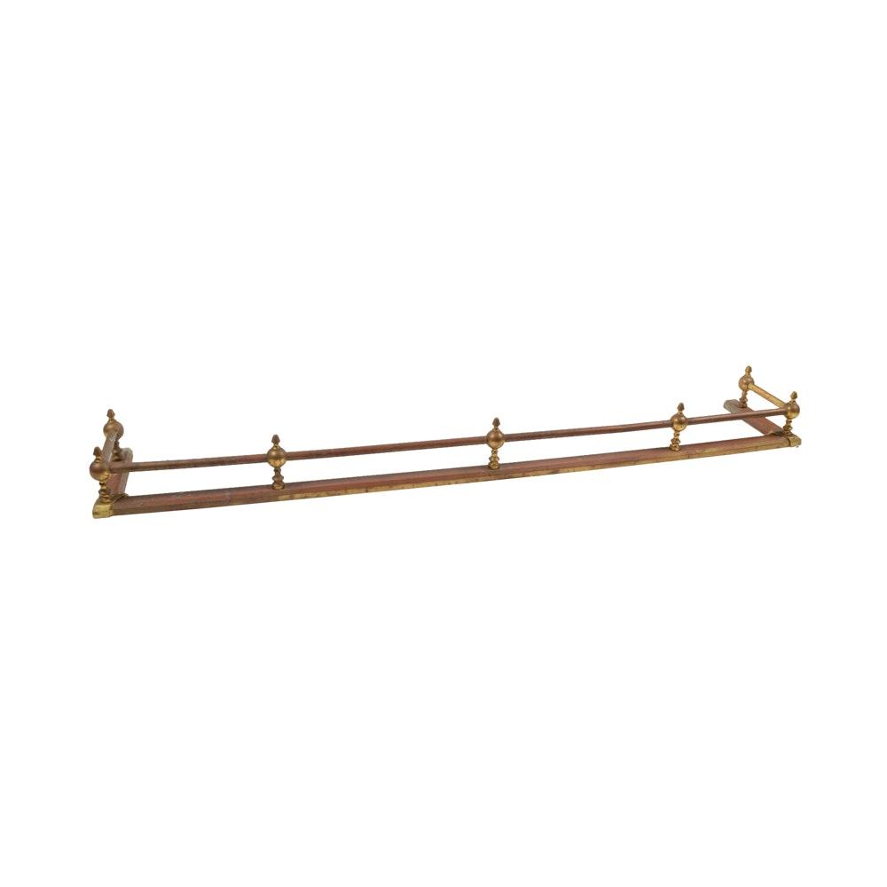 brass fireplace fender fujise us