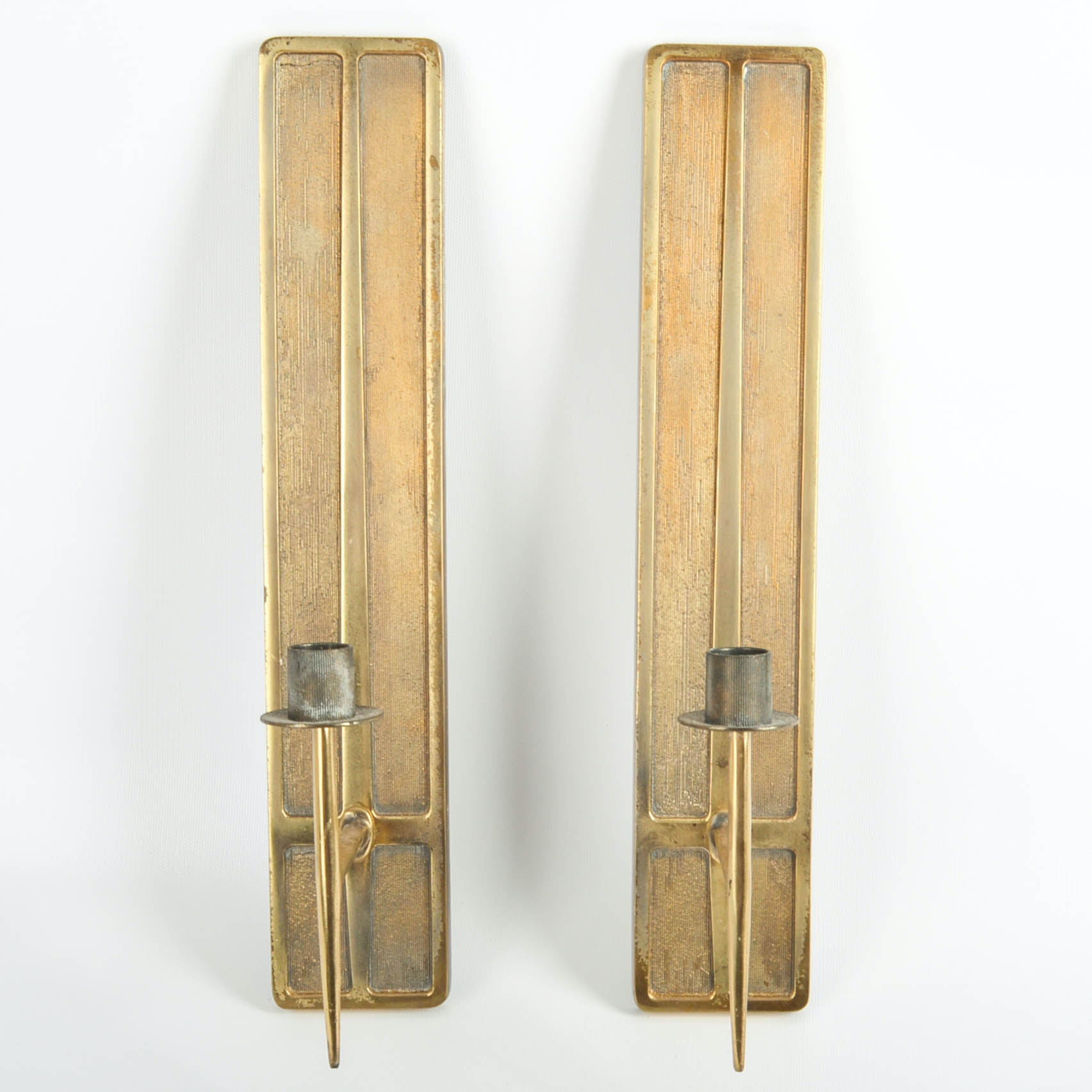 Mid Century Modern Candle Sconces