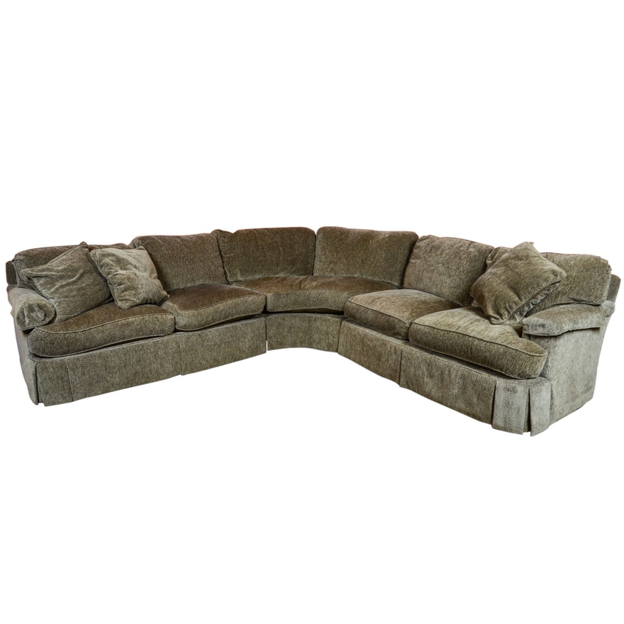 Feather And Down Filled Sectional Sofa By Hickory White