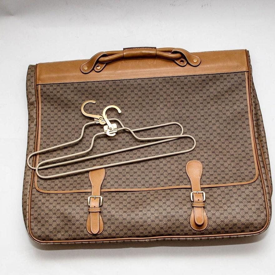 40206ed3651d Vintage Gucci Signature Garment Bag