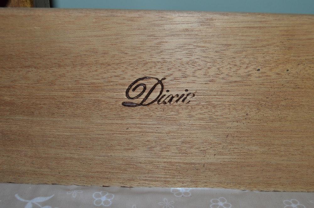 5419470 Wood Dresser With Mirror By Dixie Furniture on Quarter Sawn Oak Dresser