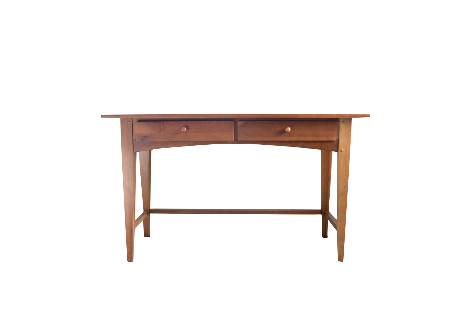 Shaker Style Cherry Console Table by Broyhill EBTH