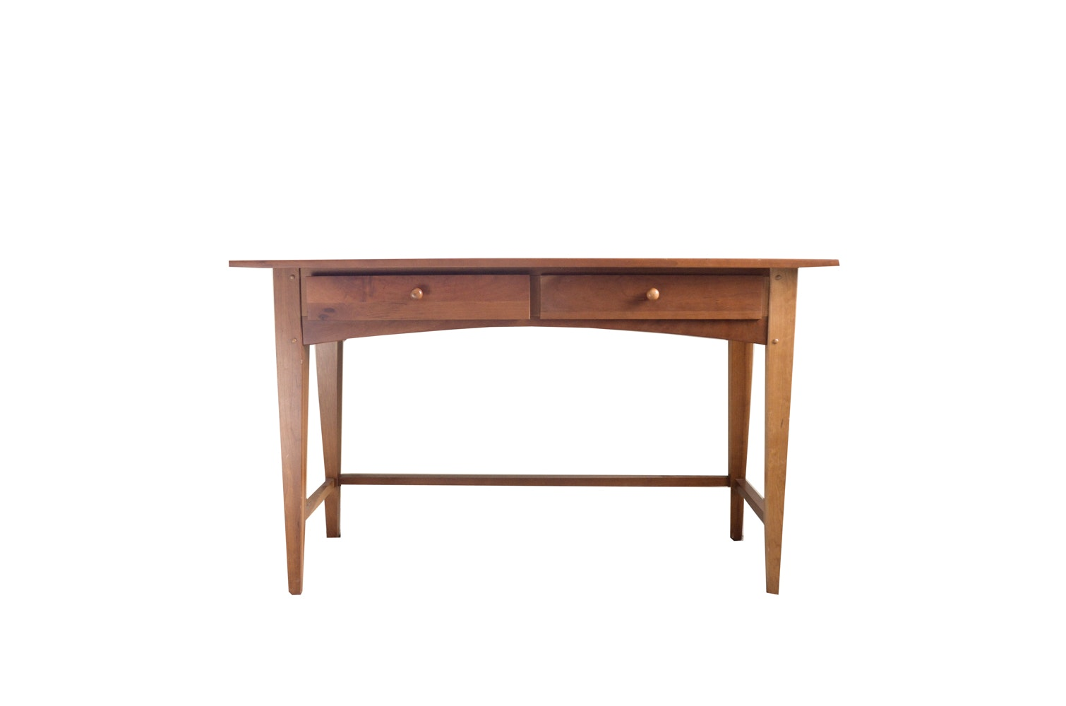 Shaker Style Cherry Console Table By Broyhill ...