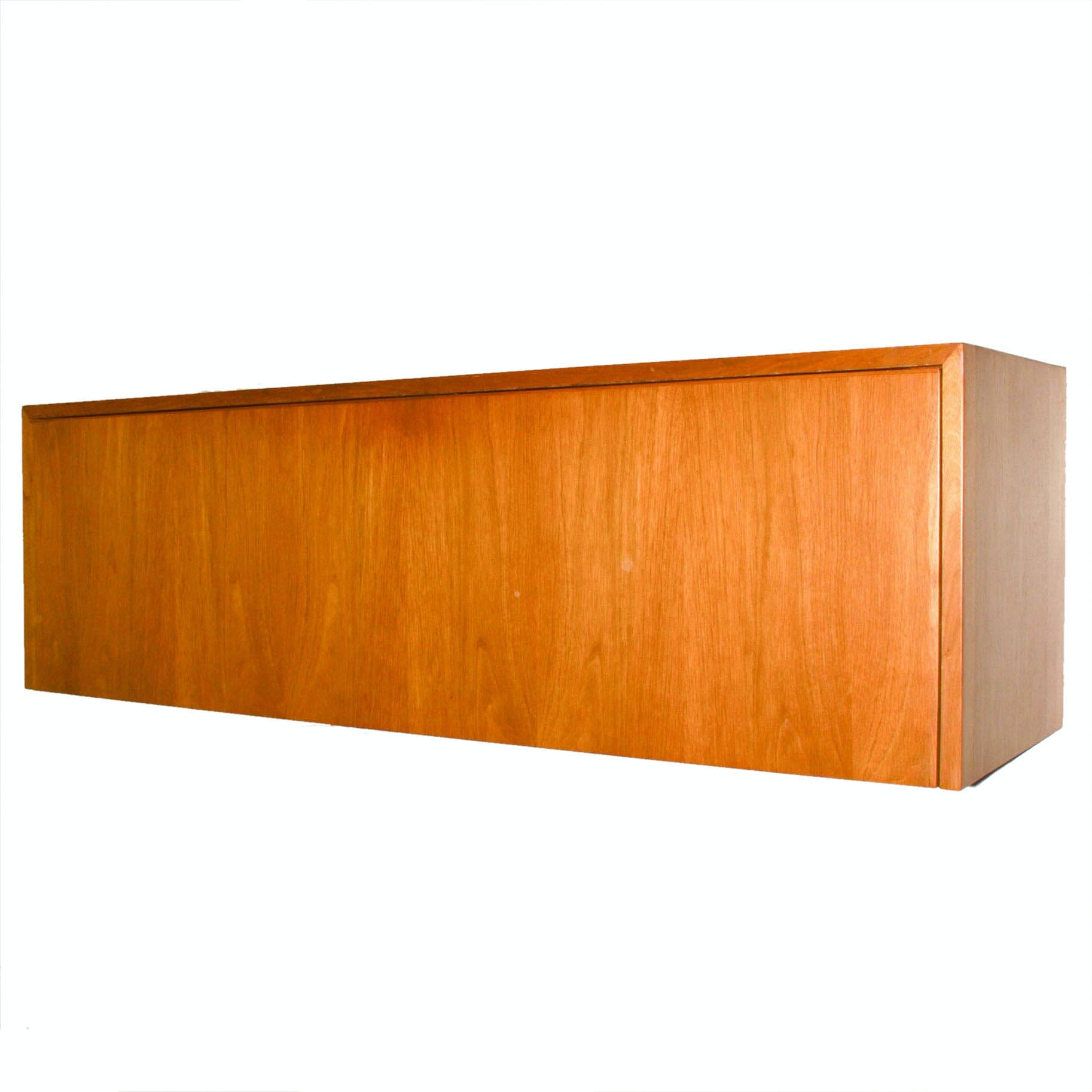 Otmar Mid-Century Floating Wall Storage Cabinet