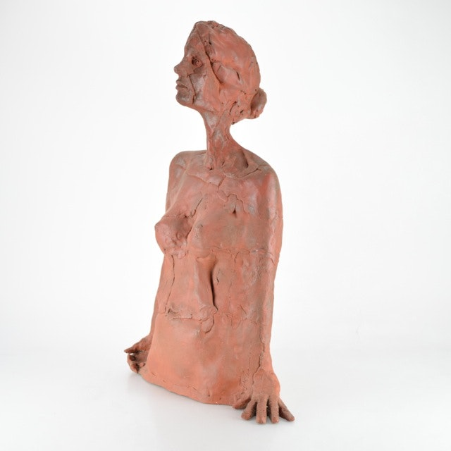 Original Tuska Ceramic Female Sculpture
