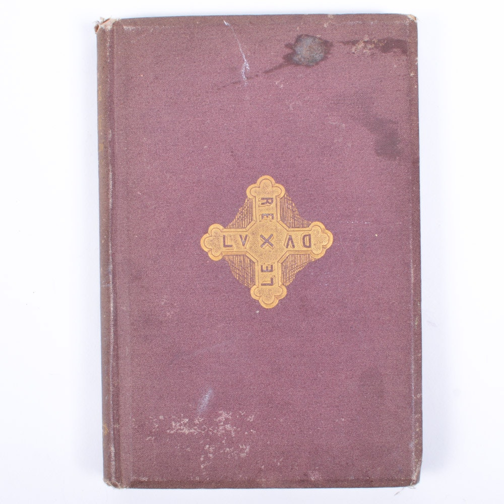 """1871 First Edition """"The Divine Tragedy"""" by Henry Wadsworth Longfellow"""