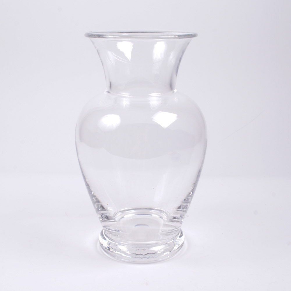 "Tiffany & Co. ""Georgetown"" Crystal Vase"