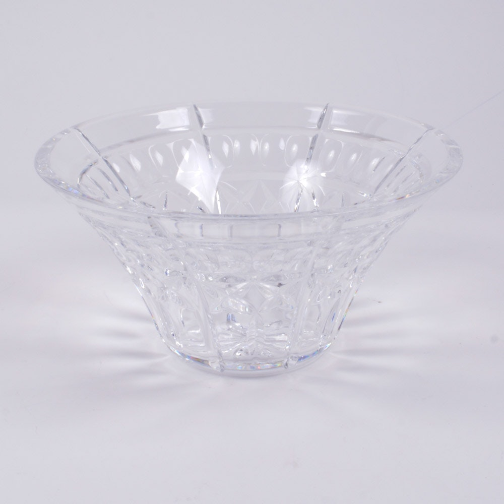 Waterford Crystal Flared Bowl