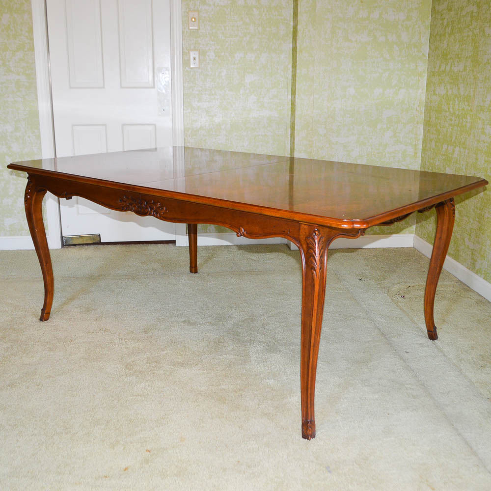 French Country Style Cherry Dining Table by HenredonEBTH