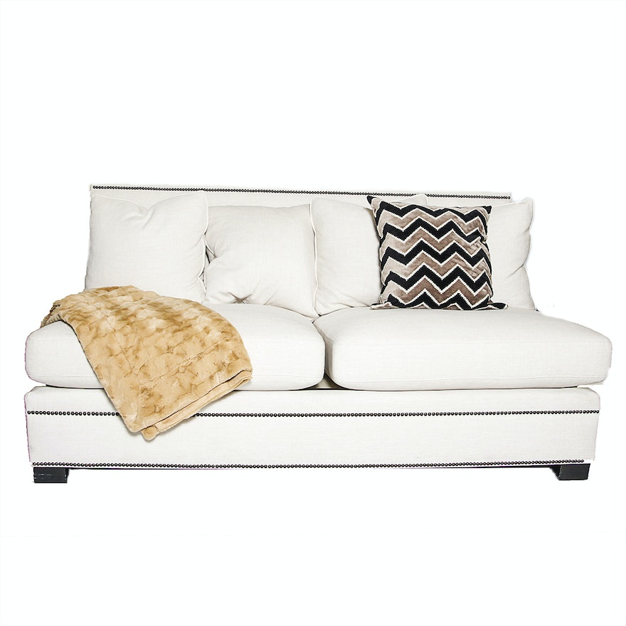 Remarkable Upholstered Bernhardt Loveseat Home Interior And Landscaping Ponolsignezvosmurscom