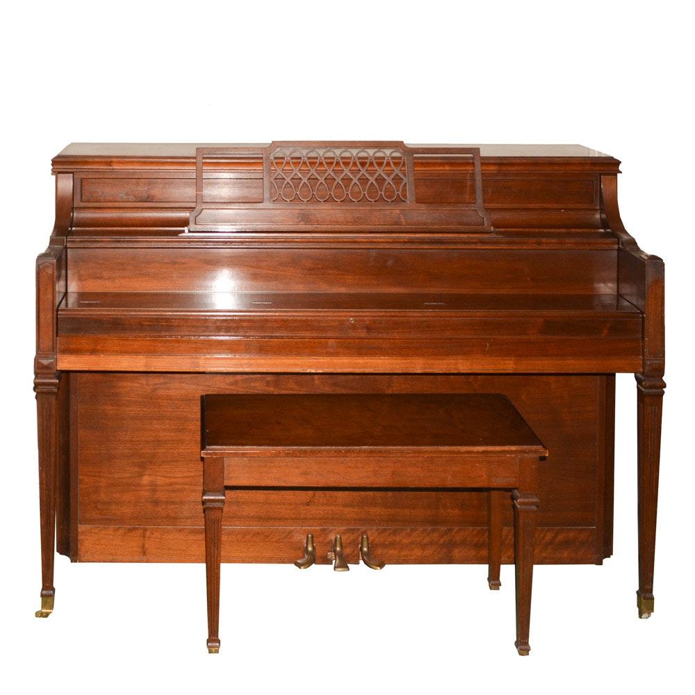 Yamaha Upright Piano and Bench