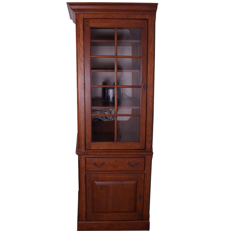 Glazed-Door Cabinet By Bob Timberlake For Lexington