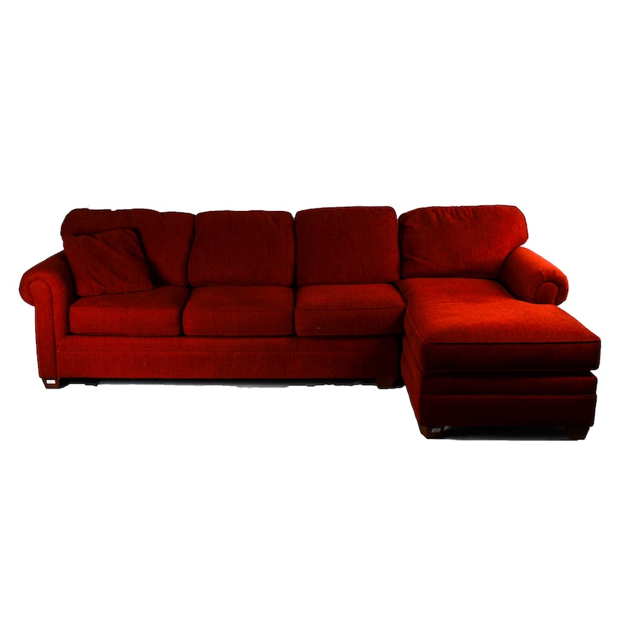 Red Chaise Lounge For Living Room